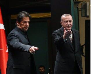 Son dakika: Başkan Erdoğan, İmran Han ile önemli bir görüşme yaptı