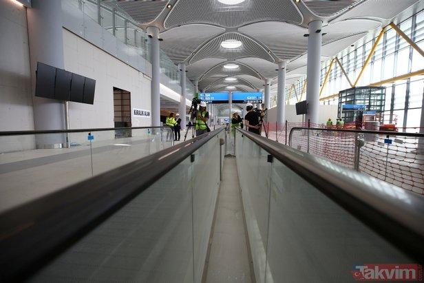 Yeni havalimanında 2. gezi provokasyonu