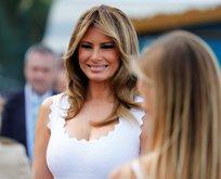 Melania Trump'ın G7 stili gündem yarattı!