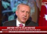 Başkan Erdoğan'dan ABD'nin YPG'ye silah desteğine ilişkin açıklama