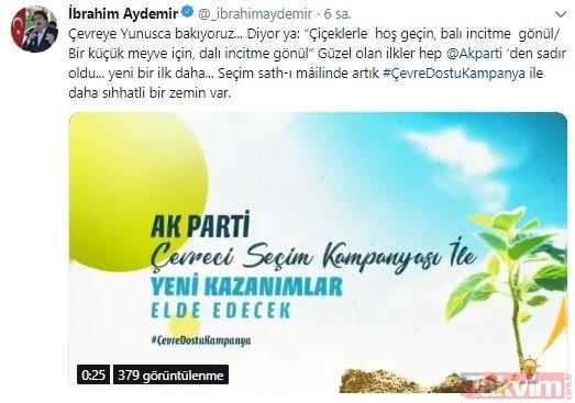 Sosyal medya AK Parti'nin seçim kampanyasını konuşuyor