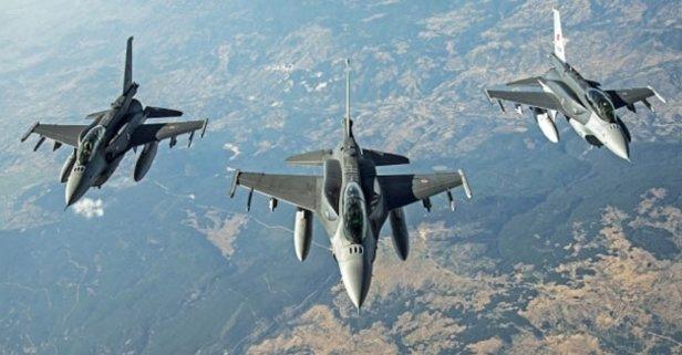 Türk jetleri Kuzey Irak'a bomba yağdırdı