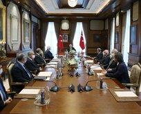 Erdoğan liderliğinde kritik toplantı
