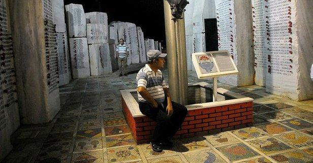Deprem şehitleri unutlmadı!