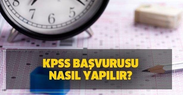 KPSS başvuruları nereden ve nasıl yapılır? ÖSYM 2020 KPSS başvuru kılavuzunu yayınladı mı?