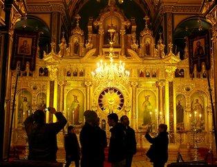 Demir Kiliseye ziyaretçi akını