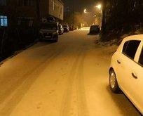İstanbul'da kar sürprizi! Okullar tatil olacak mı?