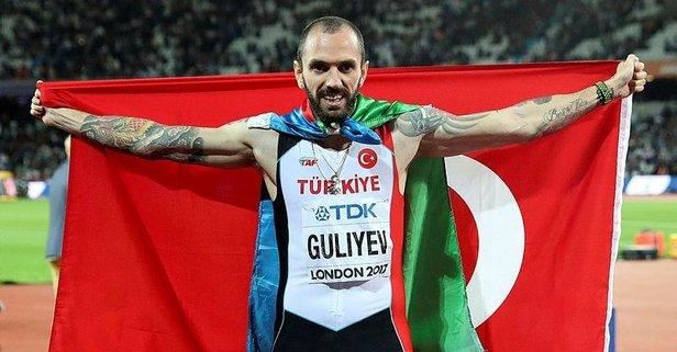 Milli atlet Guliyev'den tarihi başarı!