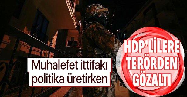 8 kişiye PKK/KCK gözaltısı