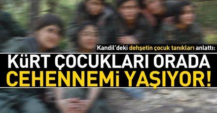 Kandil'deki dehşetin çocuk tanıkları anlattı: Kürt çocukları orada cehennemi yaşıyor