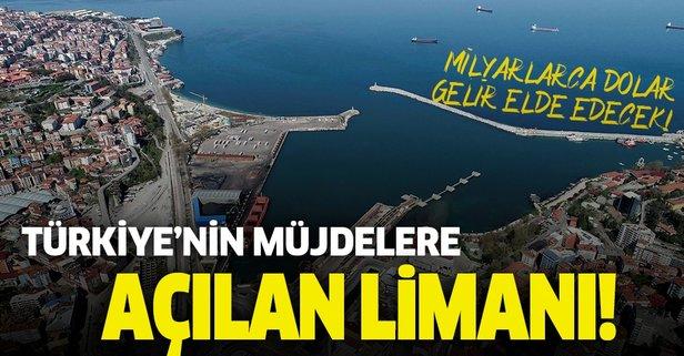 Türkiye'nin müjdelere açılan limanı: Filyos