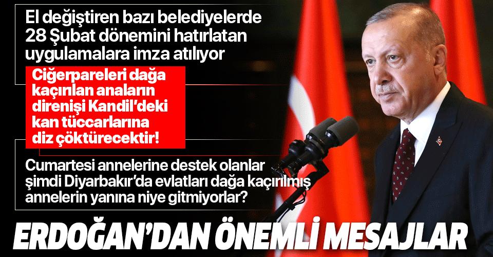 Başkan Erdoğan'dan Önder İmam Hatipliler Buluşması'nda önemli açıklamalar