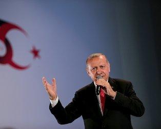 Başkan Erdoğan'a İşte ordu, işte komutan sloganları