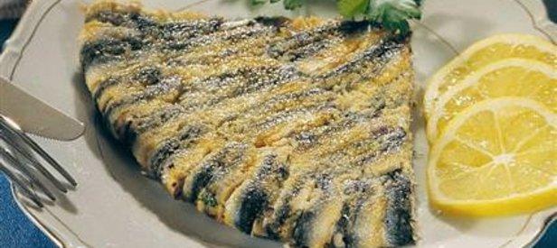 Kaşar Peynirli Hamsi Tarifi