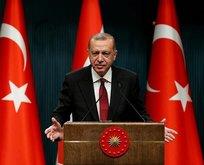 Rütbeler Başkan Erdoğan'dan