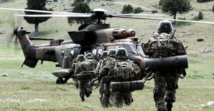 Şırnak'ta 4 PKK'lı terörist etkisiz hale getirildi