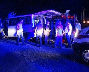 Diyarbakır'da feci kaza! Çok sayıda yaralı var