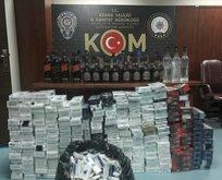 Adana'da kaçakçılık operasyonu!