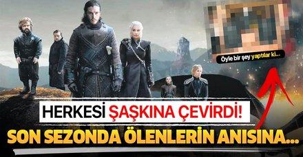 Game of Thrones, final yaptı! Yayıncı kuruluş ölenlerin anısına lokma dağıttı...