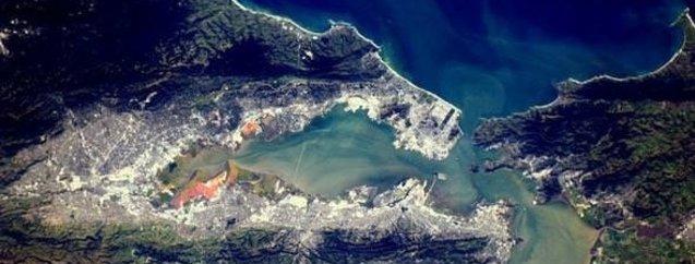Uzaydan çekilen muhteşem fotoğraflar! İstanbul'a benzeyen San Francisco...