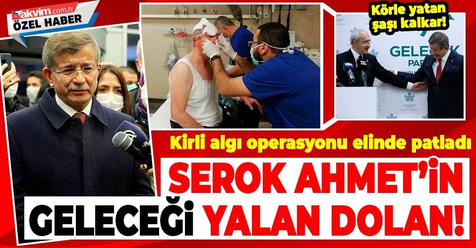 Serok Ahmet'in hayatı yalan dolan!