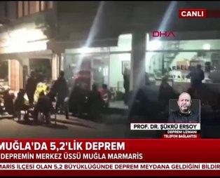 Deprem uzmanı Şükrü Ersoy A Haber canlı yayınında açıkladı: Muğla'daki son deprem ne anlama geliyor?