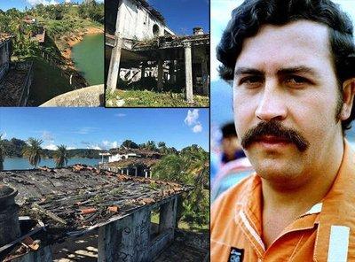 Escobarın lüks evi görenleri şaşırtıyor
