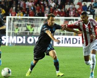 Trabzon uzatmalarda yıkıldı!