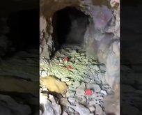 MSB paylaştı! İmha edilen mağara