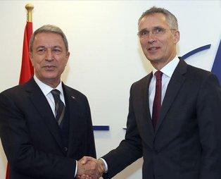 Milli Savunma Bakanı Akar, NATO Genel Sekreteri Stoltenberg ile görüştü