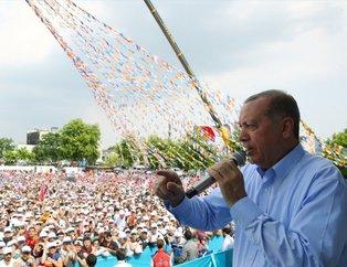Sakaryada Erdoğan coşkusu