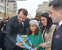 Bakan Albayrak'tan Van ve Şırnak'a teşekkür