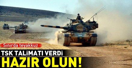 TSK'dan ÖSO'ya İdlib talimatı: Hazır olun