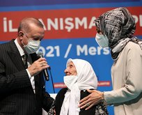 107 yaşındaki Çam'dan Erdoğan'a duygulandıran sözler