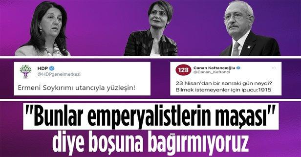 CHP'nin ortağı HDP'den sözde 1915 olaylarına destek! - Takvim