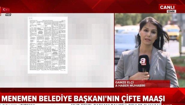 İzmir Menemen Belediye Başkanı Serdar Aksoy'un çifte maaş vurgunu
