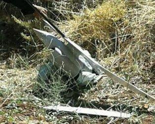 İsrail İHAsı Suriye sınırında düştü