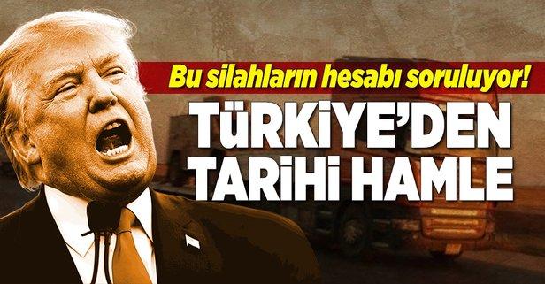 Türkiye ABD'ye karşı tarihi hamle