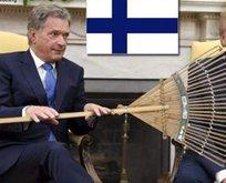 Trump, Finlandiyada alay konusu oldu