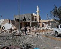 Hafter güçlerinden Trablus'ta hava saldırısı!