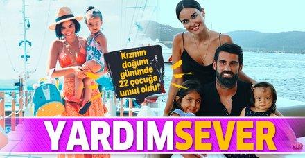 Volkan Demirel'in eşi Zeynep Sever Demirel 22 çocuğa tekerlekli sandalye aldı