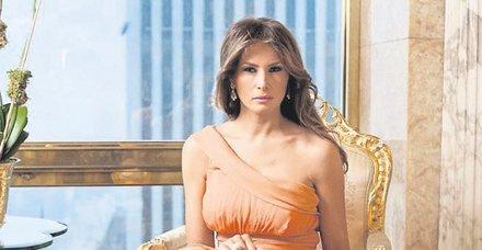 Eş başkan Melania Trump