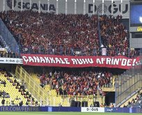 Galatasaray taraftarlarından anlamlı mesaj!