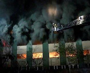 İstanbulda yangın paniği!