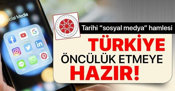 Türkiye öncülük etmeye taliptir