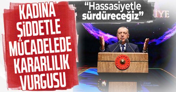Erdoğan'dan Kadınlar Günü paylaşımı