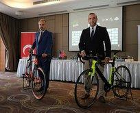 Sosyal mesafeli ilk bisiklet yarışı