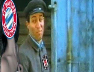 Bayern Münih Beşiktaş maçı öncesinde Caps'ler patladı!