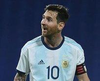 Messi yine yaptı yapacağını! Görenler şaştı kaldı
