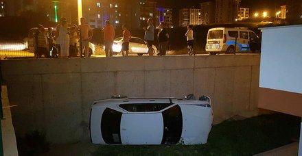 Karabükte ilginç kaza